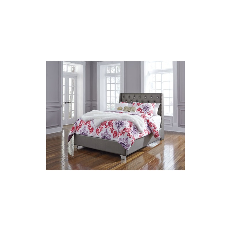 Cayne Full Uph Panel Bed By Ashley Furniture