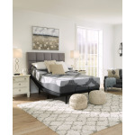 12 Inch Ashley Hybrid Queen Adjustable Base and Mattress