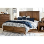 Thornton King Panel Bed - Sienna