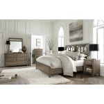 Queen Mirrored Panel Headboard