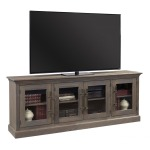 """Manchester 85"""" Console w/ 4 Doors - Barnhouse Brown"""