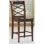 Cambridge Double X Counter Height Side Chair