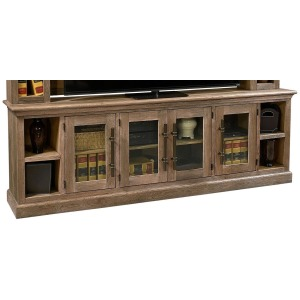 "Manchester Barnhouse Brown  97"" Console w/ 4 Doors"