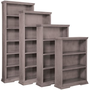 "Canyon Creek 72"" Bookcase with 4 Shelves"