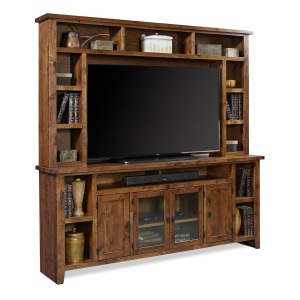 "Alder Grove 84"" Console and Hutch - Fruitwood"