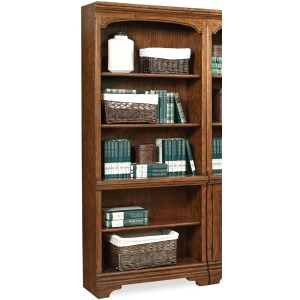 Hawthorne Carmel Brown Open Bookcase