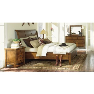 Cross Country Cal. King Panel Bed
