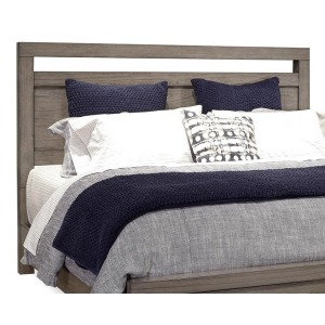 Modern Loft King Panel Headboard - Greystone