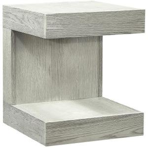 Nova Oak Heather Gray End Table