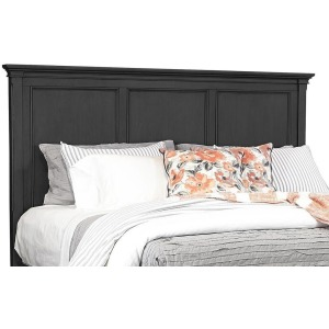 Oxford Black Queen Panel Headboard