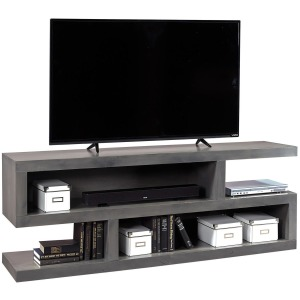 "Lifestyle Fruitwood 74"" Open S Console"