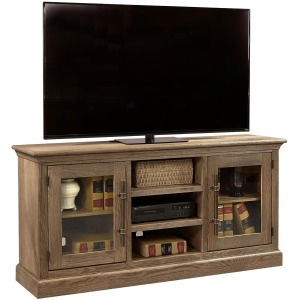 """Manchester 66"""" Console w/ 2 Doors - Barnhouse Brown"""