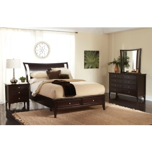 Kensington Cal. King Sleigh Bed