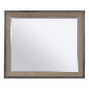Trellis Mirror - Desert Brown