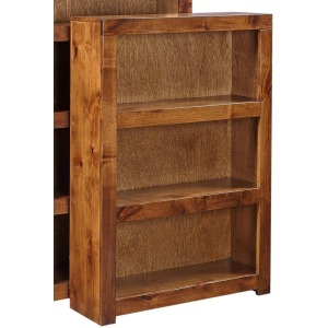 "Adler 48"" Bookcase - Fruitwood"