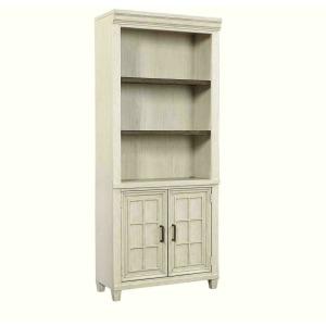 Caraway Door Bookcase - White