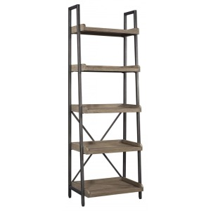 Trellis Open Bookcase - Desert Brown