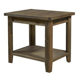 Alder Grove End Table - Brindle