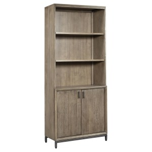 Trellis Door Bookcase - Desert Brown