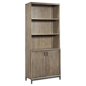 Trellis Door Bookcase - Desert Brown