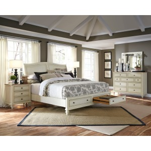 Cottonwood Cal King Bed Storage Bed