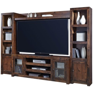 "Contemporary Alder 72"" TV Console"