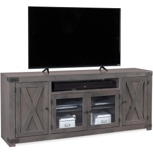 "Urban Farmhouse Smokey Grey 72"" Console"
