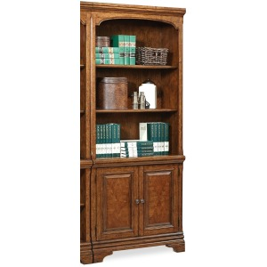 Hawthorne Carmel Brown Door Bookcase
