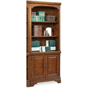 Hawthorne Carmel Brown Door Bookcase