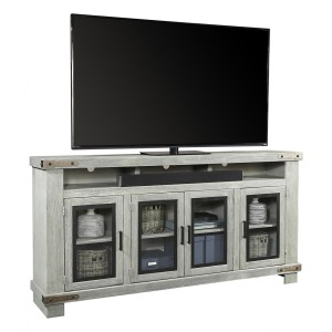 "Sawyer 78"" Highboy Console - Lighthouse Grey"