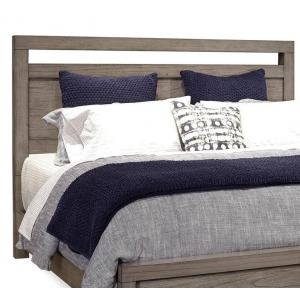 Modern Loft Queen Panel Headboard - Greystone