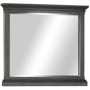 Oxford Peppercorn Landscape Mirror