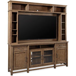 "Terrace Point 84"" Console & Hutch"