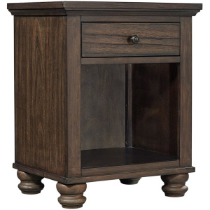 Hudson Valley Chestnut 1 Drawer Nightstand