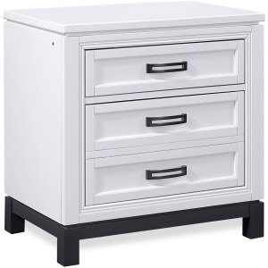 Hyde Park White Paint Liv360 Nightstand