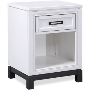 Hyde Park White Paint Nightstand