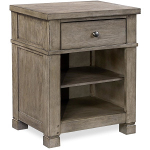Tucker Stone 1 Drawer Nightstand