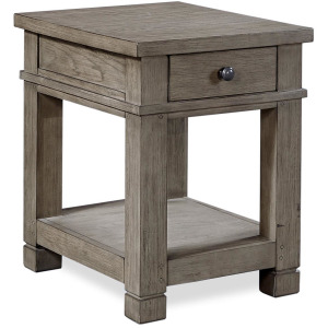 Tucker Stone Chairside Table
