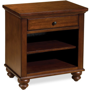 Cambridge Brown Cherry 1 Drawer Nightstand