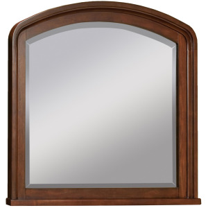Cambridge Brown Cherry Double Dresser Mirror