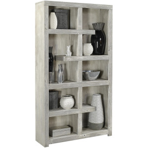 "Limestone 76"" Open Display Case"