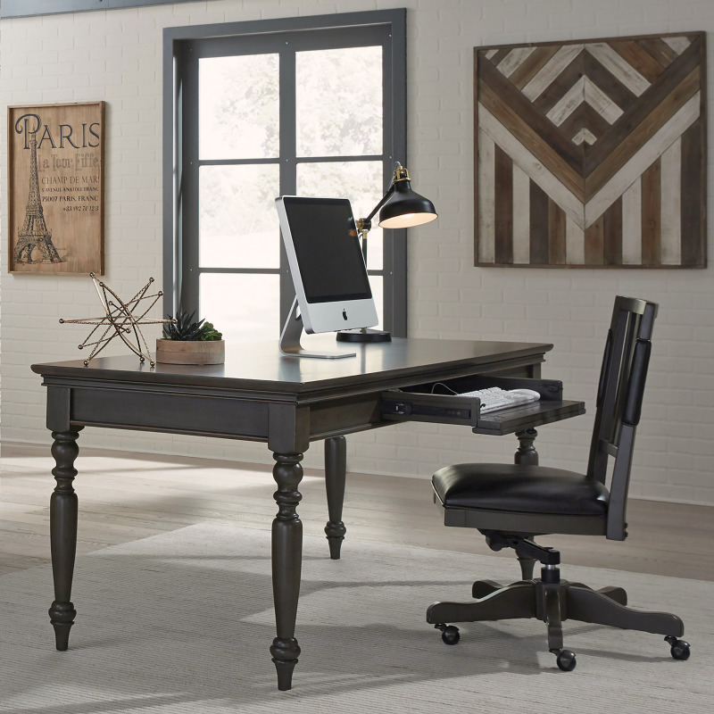 "Oxford Peppercorn 72"" Writing Desk"