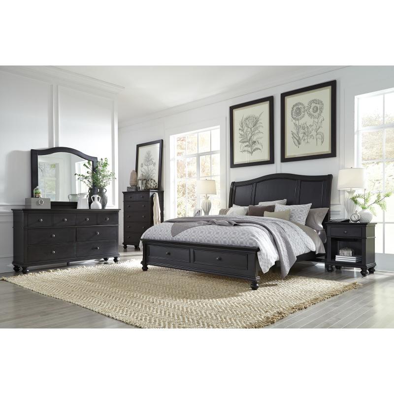 Oxford Rubbed Black Dresser