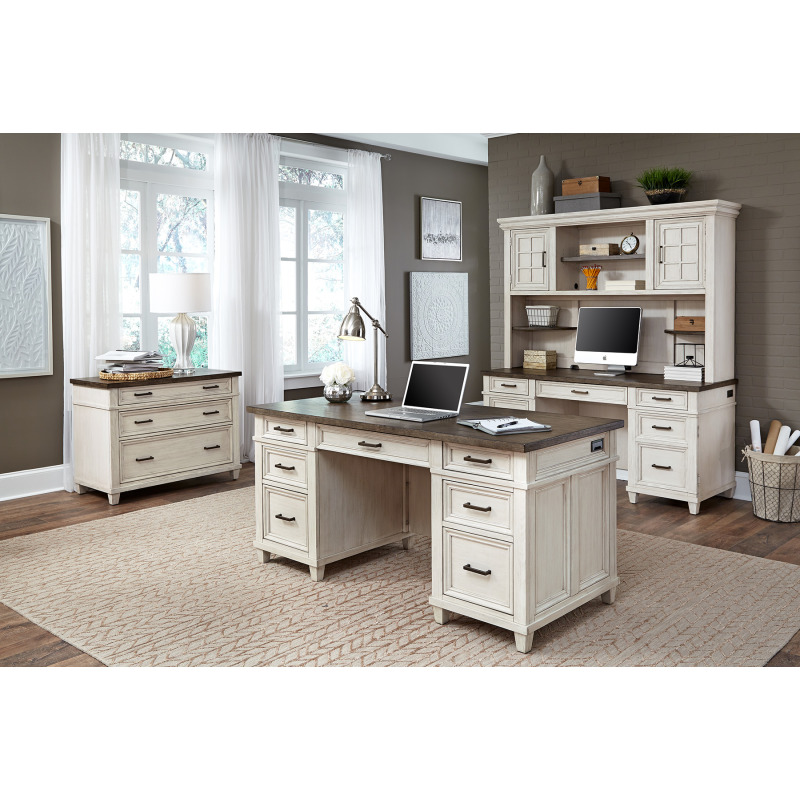 Caraway Aged Ivory Lateral File