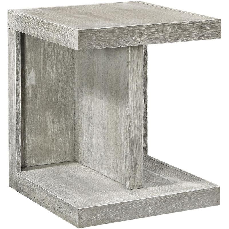 Limestone End Table