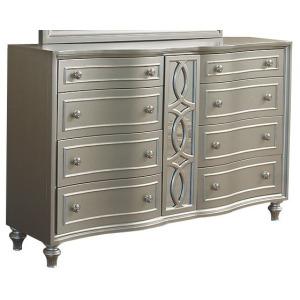 Regency Park Dresser - Silver
