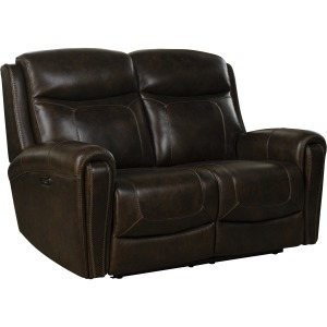 Malibu Reclining Loveseat - Tri-Tone-Chocolate