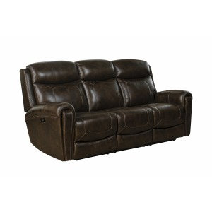 Malibu Reclining Sofa - Tri-Tone-Chocolate