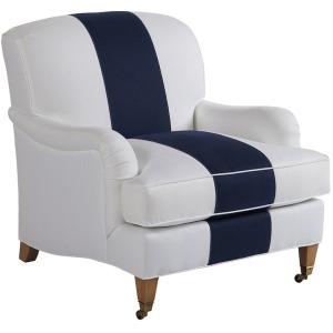 Sydney Chair w/Brass Caster
