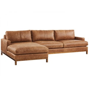 Horizon Leather Sofa Chaise